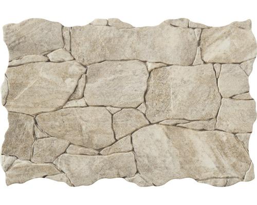 brique de parement en gr s c rame bancal cr me 32 x 49 cm hornbach luxembourg. Black Bedroom Furniture Sets. Home Design Ideas