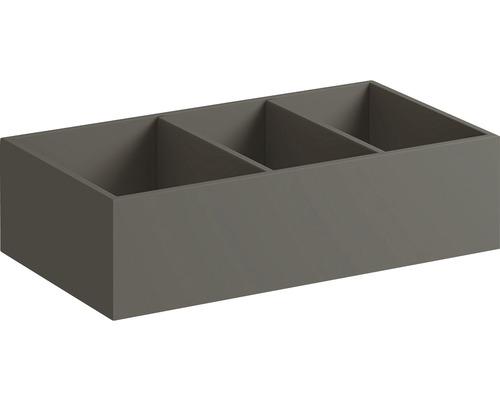 Insert pour tiroir Keramag/GEBERIT Xeno² 37,3x6,2x20,8 cm 500527001