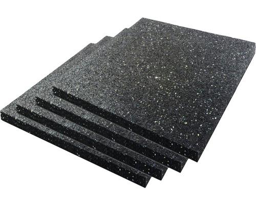 Tapis anti-vibrations 100/100/15mm pour sèche-linge et lave-linge 4pièces