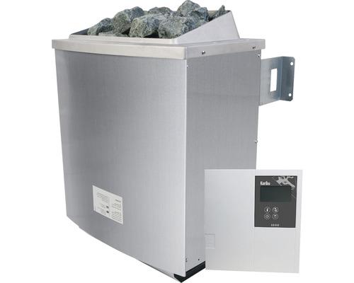 Poêle pour sauna Karibu 4,5kW avec commande intégrée incluse Classic