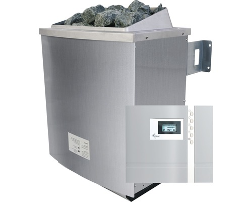 Poêle de sauna Karibu 4,5kW commande externe incluse Premium