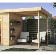 Toit en appentis Karibu pour chalet sauna Aplit 1 194x238x192cm-thumb-1