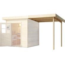 Toit en appentis Karibu pour chalet sauna Aplit 1 194x238x192cm-thumb-0