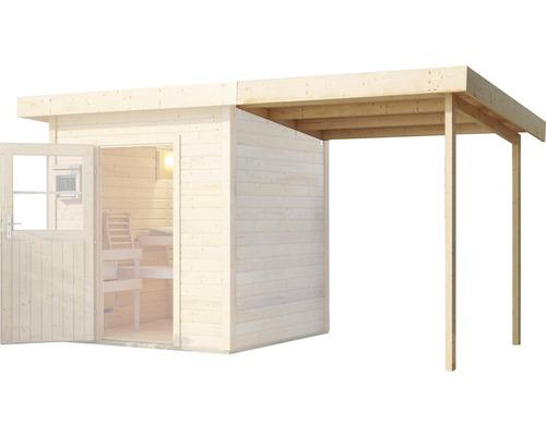 Toit en appentis Karibu pour chalet sauna Aplit 1 194x238x192cm-0