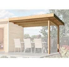 Toit en appentis Karibu pour chalet sauna Aplit 2 et Aplit 3 195x239x193cm-thumb-0