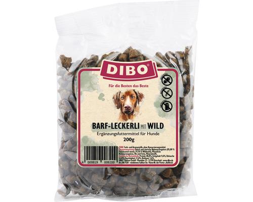Snack pour chiens DIBO-BARF-Leckerli Wild 200g