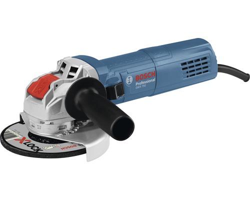 Meuleuse d''angle avec X-LOCK Bosch Professional GWX 750-125 avec poignée supplémentaire