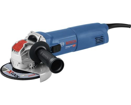 Meuleuse d''angle avec X-LOCK Bosch Professional GWX 10-125 avec housse de protection et poignée supplémentaire