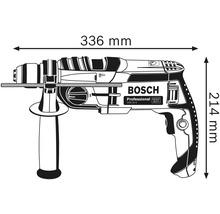 Perceuse à percussion Bosch Professional GSB 20-2 avec mandrin et L-CASE-thumb-3