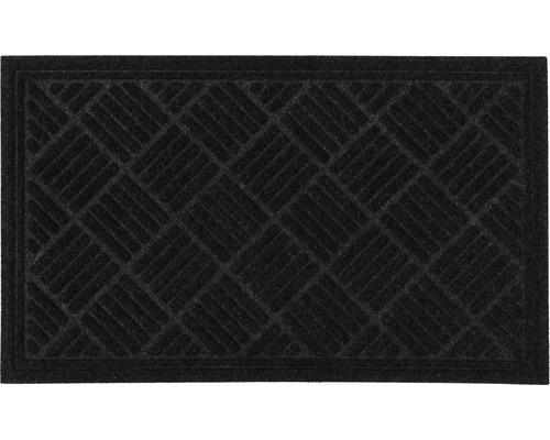 Tapis éco Contures noir 80x120 cm-0