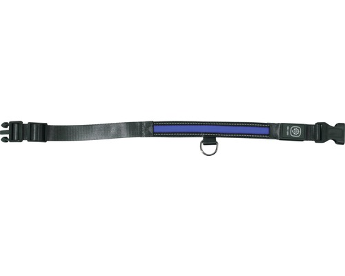 Collier dobar LED 25mm 44-52cm bleu-0