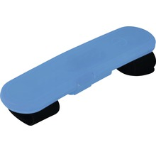 Bande lumineuse de sécurité dobar LED silicone 12,2x2,7cm bleu-thumb-0