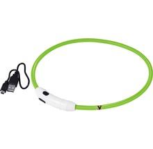 Collier dobar LED nylon 8mm 34-64cm vert-thumb-0