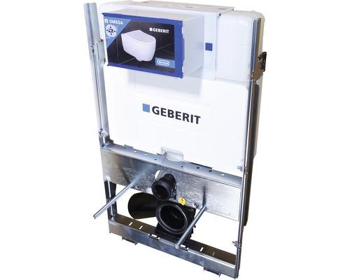 Élément encastré Geberit GIS avec réservoir de chasse d'eau Omega 12 cm hauteur de construction 87 cm