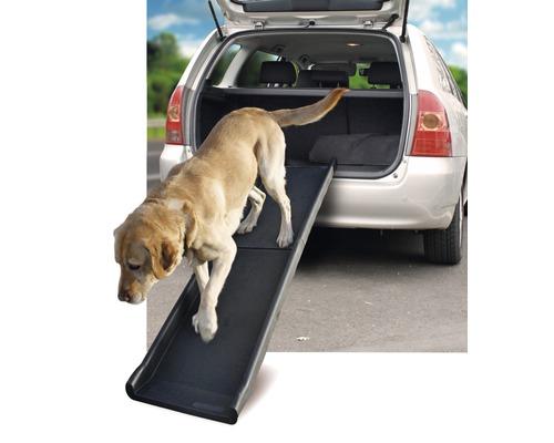Rampe de voiture pour chien Karlie Gentle Step rabattable 154x39cm