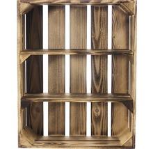 Caisse pour étagère moiré 50x40x15 cm-thumb-1
