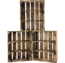 Caisse pour étagère moiré 50x40x15 cm-thumb-3