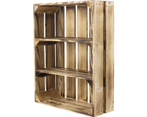 Caisse pour étagère moiré 50x40x15 cm-0