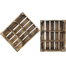Caisse pour étagère moiré 50x40x15 cm-thumb-4