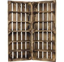 Caisse pour étagère moiré 50x40x15 cm-thumb-5