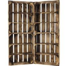 Caisse pour étagère moiré 50x40x15 cm-thumb-6