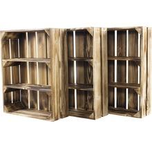 Caisse pour étagère moiré 50x40x15 cm-thumb-7