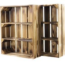Caisse pour étagère moiré 50x40x15 cm-thumb-8