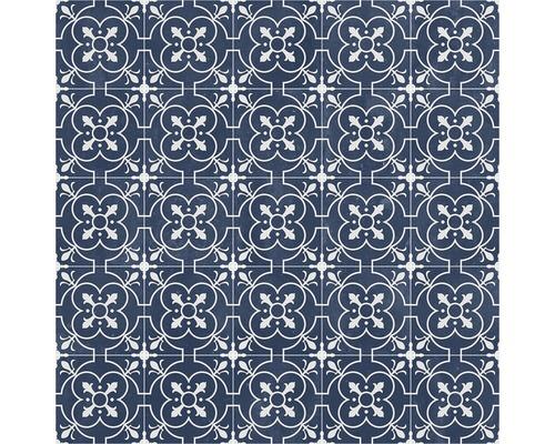 PVC Cosy Coventry blau 200 cm breit (Meterware)