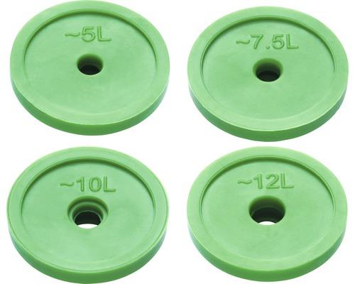 AVITAL eco Wasserspareinsatz für Handbrausen 5, 7.5, 10 &12 L/MIN.