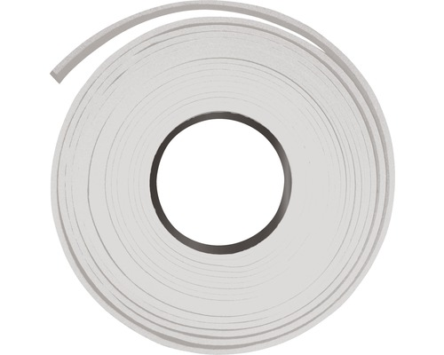 Ruban d''apprêt et isolant 6x3 mm blanc L: 10 m