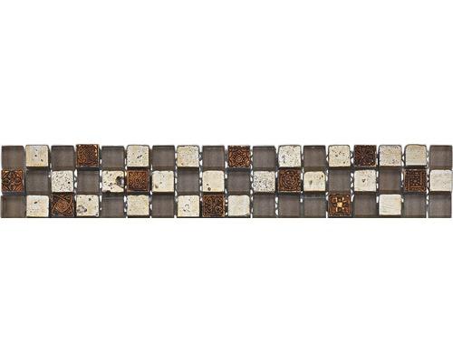 Bordure GL-52490, argent, 29,8x4,8 cm