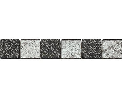 Bordure GL-52537, noir, 30x4,8 cm