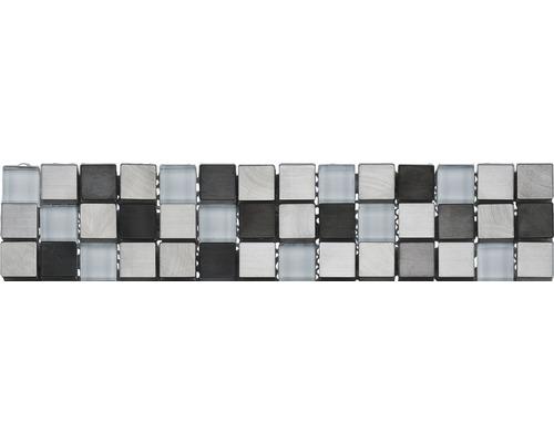 Bordure GL-52600, argent, 30,5x5,9 cm