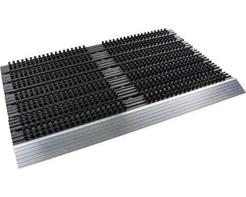 Paillasson en aluminium anthracite 40x60 cm