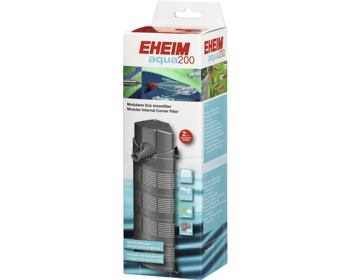 Filtre intérieur d''angle EHEIM aqua 200 4,7 W