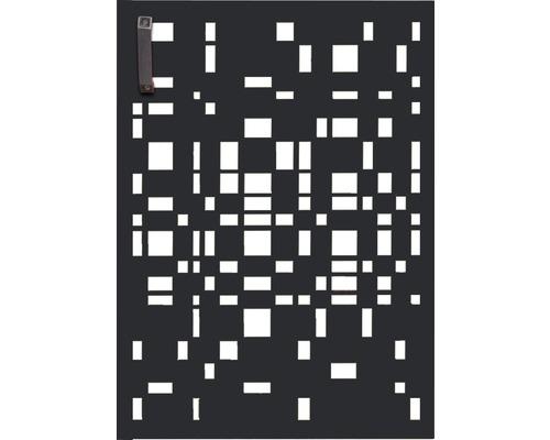 Porte pour poubelle GABIO 120l Geometrie 65x90 cm anthracite