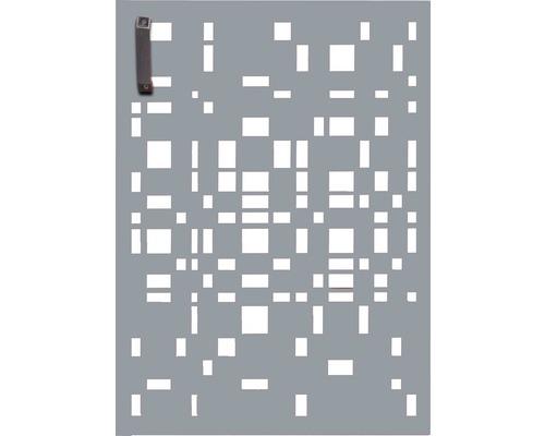 Porte pour poubelle GABIO 120l Geometrie 65x90 cm gris clair