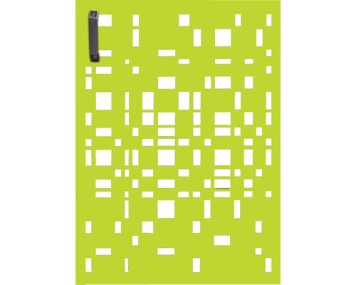 Porte pour poubelle GABIO 120l Geom 65x90 cm vert tendance