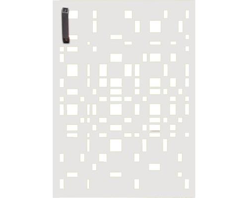 Porte pour poubelle GABIO 120l Geometrie 65x90 cm blanc