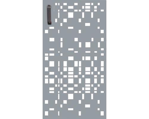 Porte pour poubelle GABIO 240l Geometrie 73x135 cm gris clair
