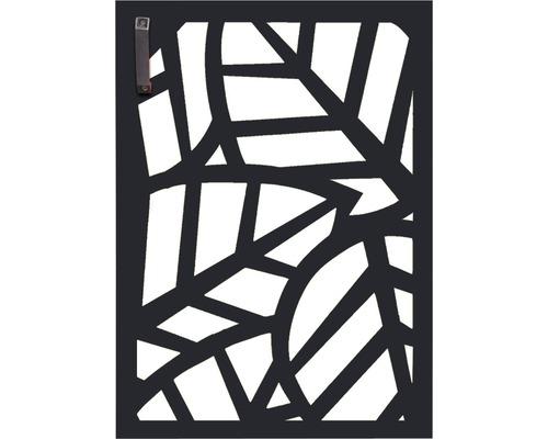 Porte pour poubelle GABIO 120l Palms 65x90 cm anthracite