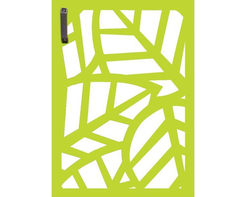 Porte pour poubelle GABIO 120l Palms 65x90 cm vert tendance