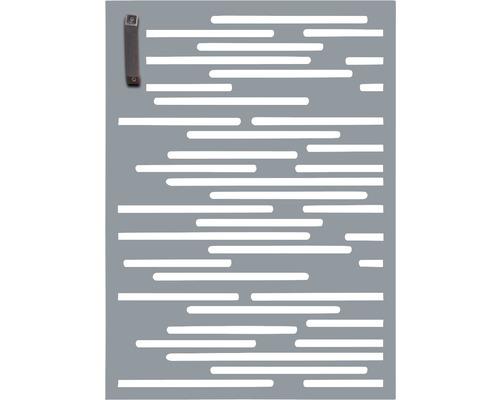 Porte pour poubelle GABIO 120l Vienna 65x90 cm gris clair