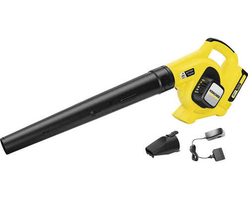 Souffleur de feuilles sans fil KÄRCHER 18V avec batterie 2,5Ah et chargeur