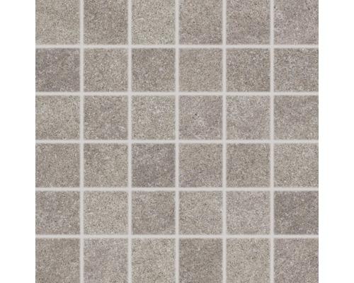 Mosaïque en grès cérame Udine beige-gris irrég. 30x30cm