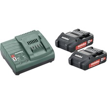 Kit de batteries Metabo 18V Li-Ion (2,0 Ah)-thumb-0