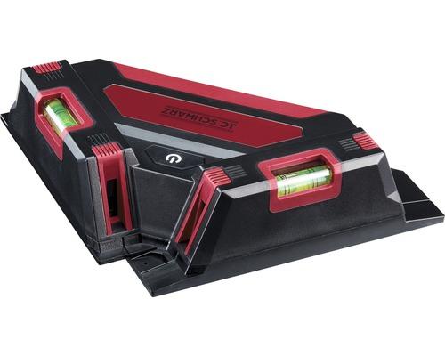 Laser carreleur 4 lignes JC Schwarz rouge