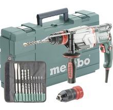 Set de marteau perforateur Metabo UHE 2660-2 Quick avec mandrin interchangeable et set de foret/burin SDS-plus 10pièces-thumb-0