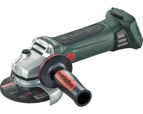 Meuleuse d''angle sans fil Metabo 18V W 18 LTX 125 Quick, sans batterie ni chargeur avec mandrin de serrage