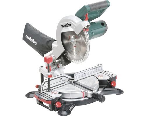 Scie à onglet radiale Metabo KS 216 M Lasercut avec lame de scie 254x30 mm